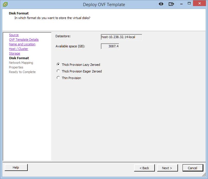 KeyControl Installation From an OVF/OVA File